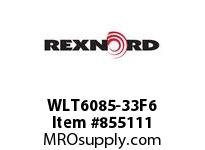 REXNORD WLT6085-33F6 LT6085-33 F4 T6P LT6085 33 INCH WIDE MATTOP CHAIN WI