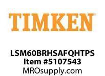 TIMKEN LSM60BRHSAFQHTPS Split CRB Housed Unit Assembly