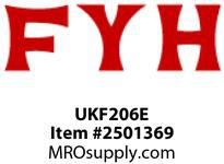 FYH UKF206E ND TB 4B FLNG (ADAPTER) 7/815/16125MM
