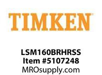 TIMKEN LSM160BRHRSS Split CRB Housed Unit Assembly