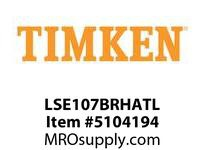 TIMKEN LSE107BRHATL Split CRB Housed Unit Assembly