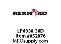 REXNORD LF6938-36D LF6938-36 PES ROD LF6938 36 INCH WIDE MATTOP CHAIN WI