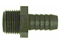 MRO 33009B 5/16 X 1/4 HB X MIP BLK POLY ADP (Package of 10)