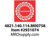 Ringspann 4821.140.114.M00758 FRXG775*3+14 CAM CLUTCH