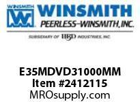 WINSMITH E35MDVD31000MM E35MDVD 300 RDLU 56C WORM GEAR REDUCER