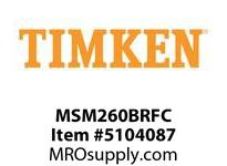 TIMKEN MSM260BRFC Split CRB Housed Unit Component