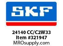 SKF-Bearing 24140 CC/C2W33