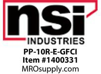 NSI PP-10R-E-GFCI 120V 2 CIRCUIT 7 DAY. DIGITAL TIME SWITCH WITH IN-USE OUTLET & GFCI