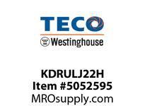 Teco-Westinghouse KDRULJ22H LINE REACTOR 5% IMPEDANCE 230V UL CHASSIS UNIT