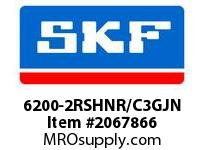SKF-Bearing 6200-2RSHNR/C3GJN