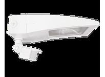 RAB WPLED10YMSW LPACK LED WALLPACK 10W WARM JUNC BOX + MINISENSOR WHITE