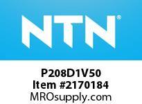 NTN P208D1V50 Cast Housing