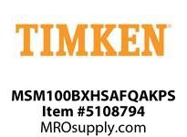 TIMKEN MSM100BXHSAFQAKPS Split CRB Housed Unit Assembly