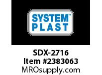 System Plast SDX-2716 SDX-2716 SP CUSTOMIZED PRODUCTS