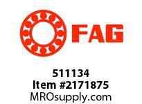 FAG 511134 SINGLE ROW CYLINDRICAL ROLLER BEARI