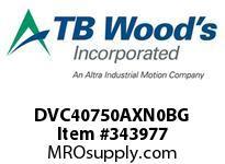TBWOODS DVC40750AXN0BG INV DVC 460V 75HP IP00