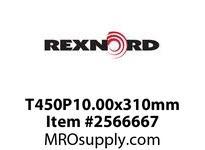 Tollok T450P10.00x310mm TLK450-10INx310MM-Y1954