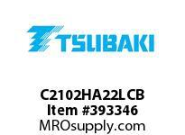 US Tsubaki C2102HA22LCB C2102H COT 2L/A-2