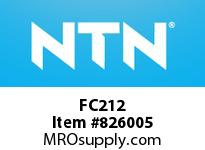 NTN FC212 Bearing Units - Cast Housing
