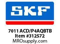 SKF-Bearing 7011 ACD/P4AQBTB