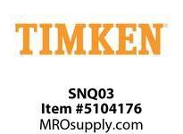 TIMKEN SNQ03 Split CRB Housed Unit Component