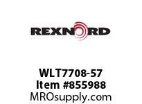 REXNORD WLT7708-57 WLT7708-57 WLT7708 57 INCH WIDE MATTOP CHAIN W