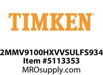 TIMKEN 2MMV9100HXVVSULFS934 Ball High Speed Super Precision