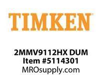 TIMKEN 2MMV9112HX DUM Ball High Speed Super Precision