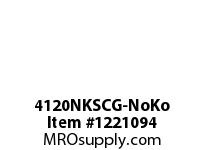 WireGuard 4120NKSCG-NoKo 4X4X120 NEMA TYPE-1 GUTTER