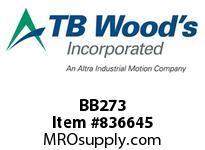 TBWOODS BB273 BB273 HEX V-BELT