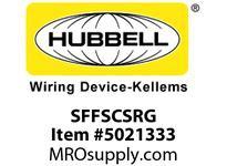 HBL_WDK SFFSCSRG FIBER SNAP-FITFLSHSC SMPLXRDZIRCGY