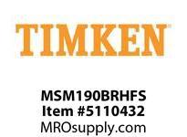 TIMKEN MSM190BRHFS Split CRB Housed Unit Assembly