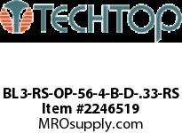 Techtop BL3-RS-OP-56-4-B-D-.33-RS BLUE LINE 3 PHASE ODP ROLLED STE