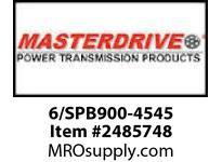 MasterDrive 6/SPB900-4545 6 GROOVE SPB SHEAVE
