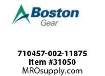 BOSTON 72803 710457-002-11875 ROTOR ASSY V11 1.1875""