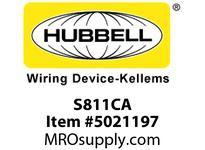 HBL_WDK S811CA 4SQ CVR 1/2RSD EXPW 1)RCPT30A LCKNG