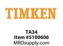 TIMKEN TA34 SRB Plummer Block Component