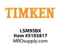 TIMKEN LSM95BX Split CRB Housed Unit Component