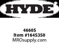 Hyde Mfg. 46605 MINI BRASS BRUSH