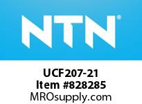 NTN UCF207-21 Square flanged bearing unit