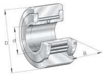 INA NATV10 Yoke type track roller