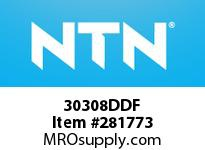 NTN 30308DDF SMALL SIZE TAPERED ROLLER BRG