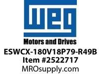 WEG ESWCX-180V18P79-R49B XP FVNR 150HP/460 N79 120V Panels