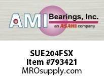 AMI SUE204FSX 20MM NORMAL WIDE CYL O.D. ACCU-LOC SINGLE ROW BALL BEARING