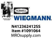 WIEGMANN N412362412SS N4XSDSS36X24X12