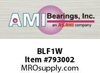 AMI BLF1W 12MM NARROW SET SCREW WHITE 2-BOLT BEARING