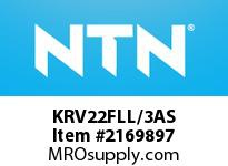 NTN KRV22FLL/3AS Machined Ring NRB (CamFollower