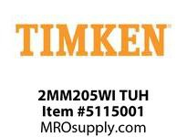 TIMKEN 2MM205WI TUH Ball P4S Super Precision