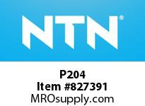 NTN P204 Bearing Units - Cast Housing