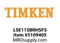 TIMKEN LSE115BRHSFS Split CRB Housed Unit Assembly